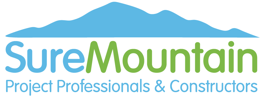 SureMountain Logo Construction, Fit Outs & Energy Saving