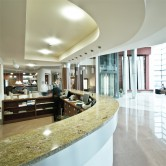 Lighting-hotel-reception-SureMountain-Construction-project-management-&-energy-savings
